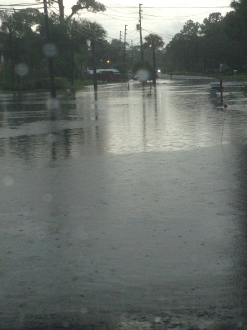 This was a no name storm that blew through Tarpon Springs and flooded our streets!